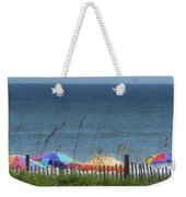 Beach Umbrellas Weekender Tote Bag