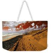 Beach Under A Blood Red Sky Weekender Tote Bag