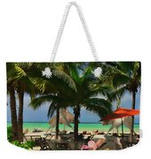 Beach Vacation Weekender Tote Bag