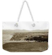 Beach View At Santa Monica Circa 1880 Weekender Tote Bag