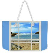 Beach View From Your Living Room Window Weekender Tote Bag