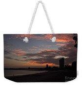 Beach Walk At Sunset Weekender Tote Bag