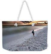 Beach Walk Weekender Tote Bag