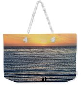 Beach Walk Weekender Tote Bag