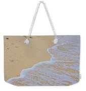 Beach Water Curves Weekender Tote Bag