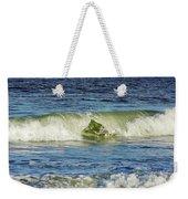 Beach Waves Weekender Tote Bag