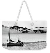 Beached At Coorong Bw Weekender Tote Bag
