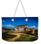 Beached Boat Weekender Tote Bag