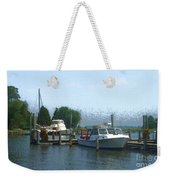 Beached Buoys Weekender Tote Bag