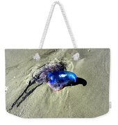 Beached Jellyfish 001 Weekender Tote Bag