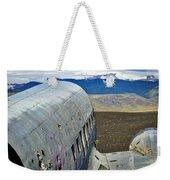 Beached Plane Wreckage - Iceland Weekender Tote Bag