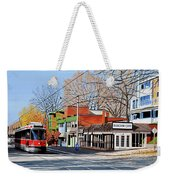 Beacher Cafe Weekender Tote Bag by Kenneth M  Kirsch