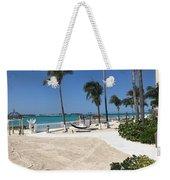 Beachfront Patio Weekender Tote Bag