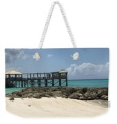 Beachfront Pier Weekender Tote Bag