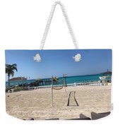 Beachfront Vollyball Weekender Tote Bag