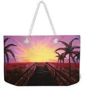 Beachside Sunset Weekender Tote Bag