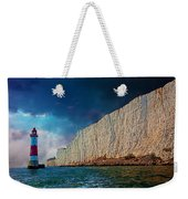 Beachy Head Lighthouse And Cliffs Weekender Tote Bag