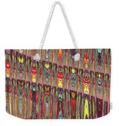 Beaded Curtain Weekender Tote Bag