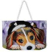 Beagle Pup Weekender Tote Bag