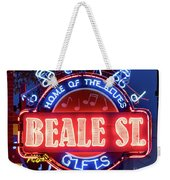 Beale Street Home Of The Blues Weekender Tote Bag