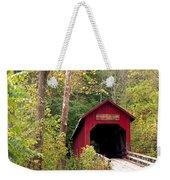 Bean Blossom Bridge II Weekender Tote Bag