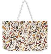 Bean Painting Weekender Tote Bag
