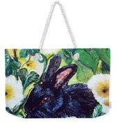 Bean The Magical Rabbit -pet Portrait Weekender Tote Bag