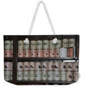 Beans Peaches Tomatoes And Peas Weekender Tote Bag