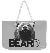 Bear And Beard Weekender Tote Bag