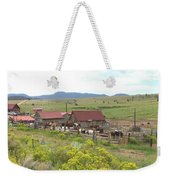 Bear Basin Ranch Weekender Tote Bag