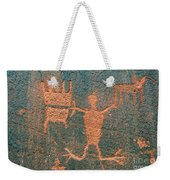 Bear Clan Horse Rider Weekender Tote Bag