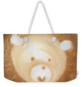 Bear Cup Latte  Weekender Tote Bag