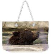 Bear Dip Weekender Tote Bag