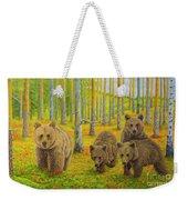 Bear Family Weekender Tote Bag