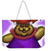 Bear In Red Hat Weekender Tote Bag