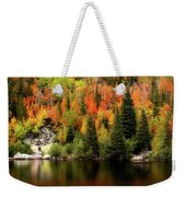 Bear Lake Autumn Weekender Tote Bag
