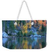 Bear Lake Colorado Poster Weekender Tote Bag