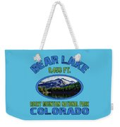 Bear Lake Rocky Mountain National Park Colorado Weekender Tote Bag