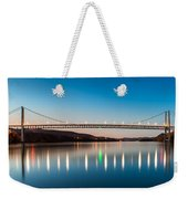 Bear Mountain Bridge At Dusk. Weekender Tote Bag