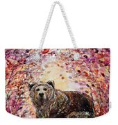 Bear With A Heart Of Gold Weekender Tote Bag