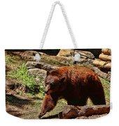 Bear Pacing Weekender Tote Bag