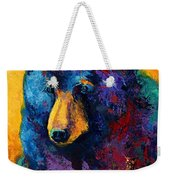 Bear Pause - Black Bear Weekender Tote Bag