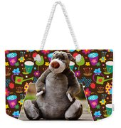 Bear Playtime Weekender Tote Bag