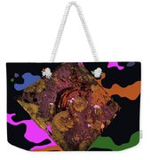 Bear Right To The 60s Weekender Tote Bag