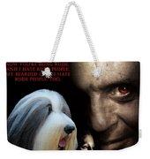 Bearded Collie Art Canvas Print - Hannibal Movie Poster Weekender Tote Bag