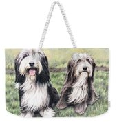 Bearded Collies Weekender Tote Bag