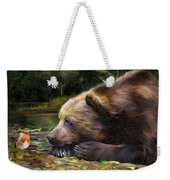 Bear's Eye View Weekender Tote Bag