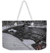 Bearskin Creek Riffles Weekender Tote Bag