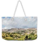 Beartooth Mountains Panorama Weekender Tote Bag