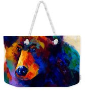 Beary Nice - Black Bear Weekender Tote Bag